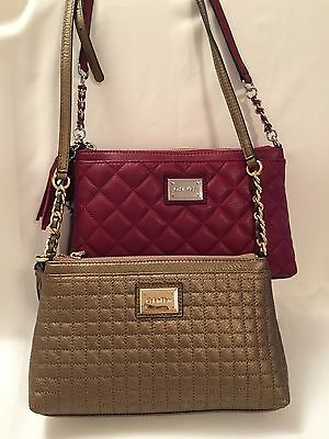 Calvin Klein Quilted Leather Crossbody Bag Ebay