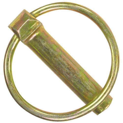 50 Klappstecker DIN 11023 gelb verzinkt 10x42 Splinte