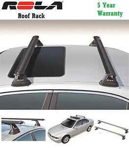 Rola Custom Aluminum Roof Rail Rack Cross Bars 99 15 Bmw 3