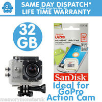 32GB Sandisk Ultra micro SD SDHC Memory Card For SJCAM 4000 5000 6000 Ambarella