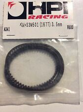 GENUINE HPI Belt 3.5mm S3M 167T RS4 PRO A241 New RARE VINTAGE RC