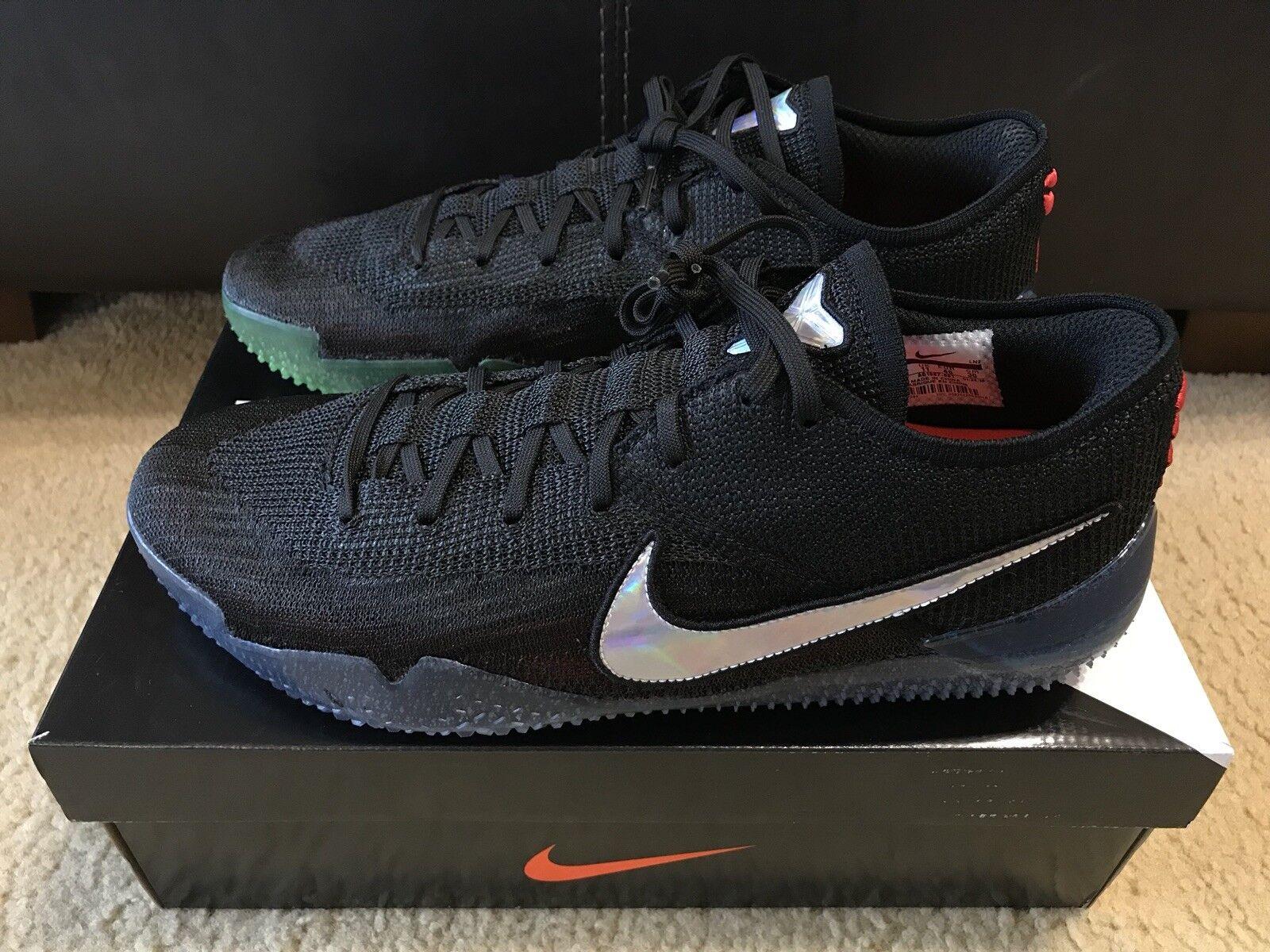 Nike Kobe AD NXT 360 MAMBA DAY Men's sz 12 Black Basketball shoes AQ1087 001