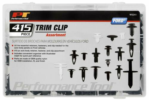 W5241 415pc Ford Trim Clip AssortmentTrim Clips for Doors for Ford