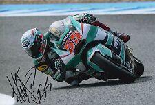 Hafizh Syahrin Hand Signed 12x8 Photo Petronas Kalex Moto2 2016 MOTOGP 2.