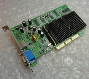 128 Mo genuine Nvidia GeForce FX 5200 NV34-AT-128B Carte graphique AGP