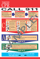 Cpr And Choking Post Cards Lot Of 50 2015 Guidelines