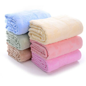 chinese soft nap blanket summer towel blanket traditional craft relief bed cover