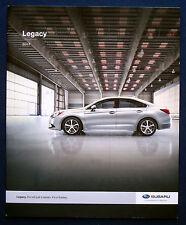 Prospekt brochure 2017 Subaru Legacy (USA)