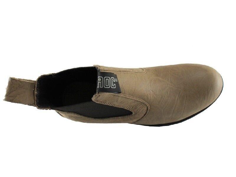 New Roc Oily Stiefel Tucson Braun Oily Roc Größe 5 a7ec09