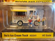 Woodland Scenics HO #5541  AutoScenes Ike's Ice Cream