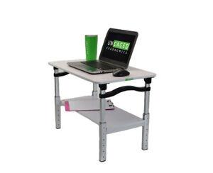 Lift Laptop Standing Desk Converter Height Adjustable Sit Stand Up