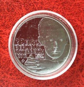 Autriche-Magnifique-monnaie-de-20-euro-2012-Proof-Egon-Schiele