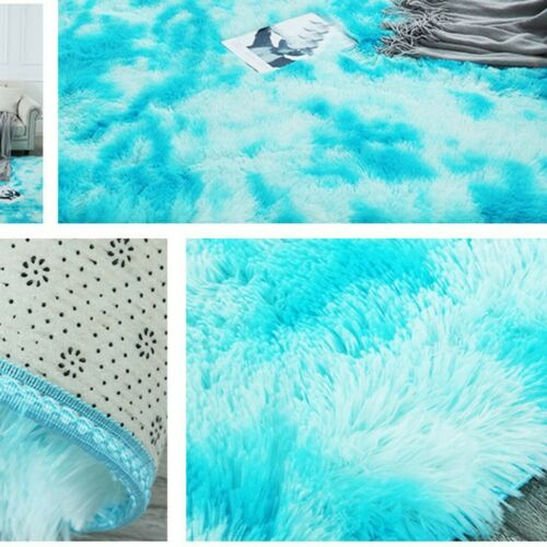 Soft Cosy Shaggy Rugs Fluffy Living Room Area Carpets Home Bedroom Floor Mat US