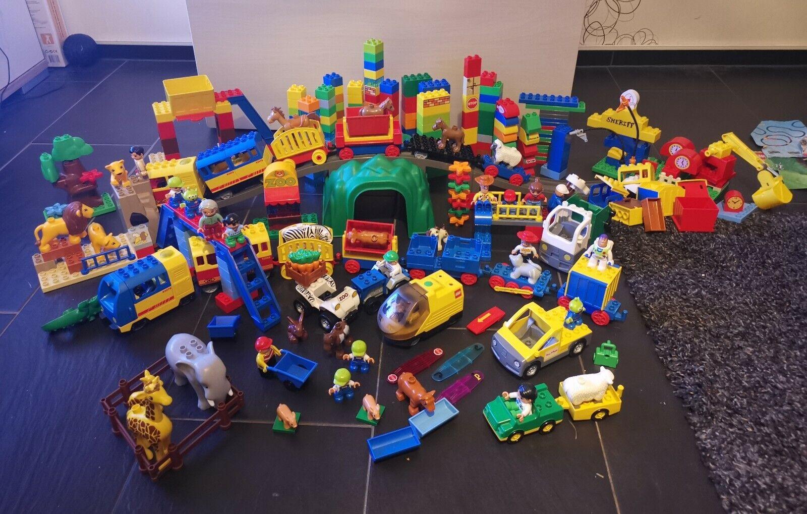 Lego Duplo Eisenbahn Super Set ,3x Eisenbahn, Zoo uvm