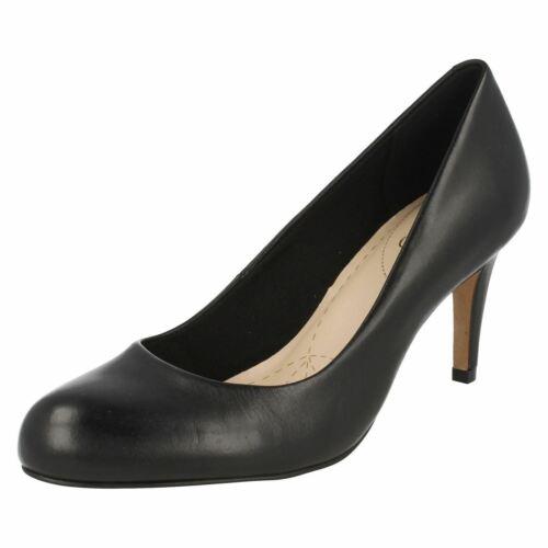 Femmes Clarks Carlita Cove Fashion Cour Chaussures