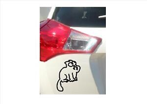 Simones-Cat-Removable-Vinyl-Decal-Sticker-Car-Truck-Wall-Art-140mm-x-105mm