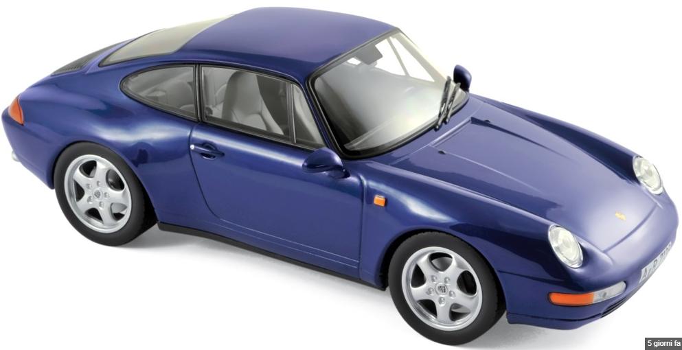Porsche 911 voiturerera 1993 bleu  Metallic 1 18 187593 norev  économisez jusqu'à 30-50%