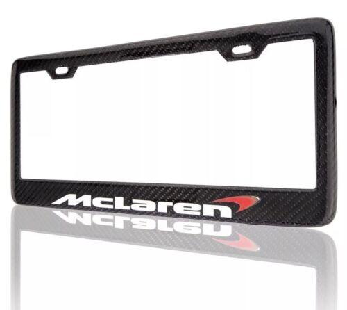 Mclaren 720s 570s 650s Mp4-12c Real Carbon Fiber License Plate Frame Cover