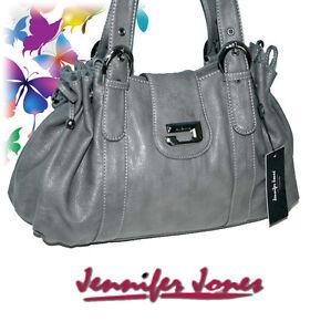 Fashion Damentasche Handtasche Umhängetasche Abendtasche grau 3916 TOSKANA