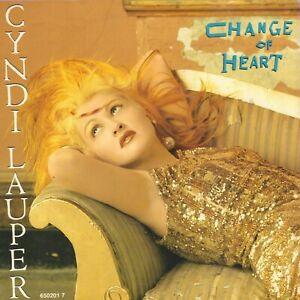 CYNDI-LAUPER-Change-Of-Heart-1986-NEAR-MINT-VINYL-SINGLE-7-034-EUROPE