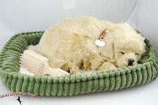 Golden Retriever Life Like Stuffed Animal Breathing Dog Perfect Petzzz