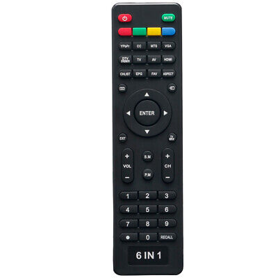 New USBRMT 6 in 1 Universal Remote For Pioneer Viore Polaroid RCA Vios Speler TV