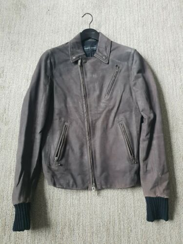 Damir Doma Leather Biker Jacket 36/46
