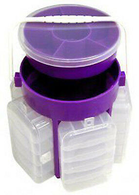 Handy Storage Container Organizer Crafts Beads Findings Compartment Plastic