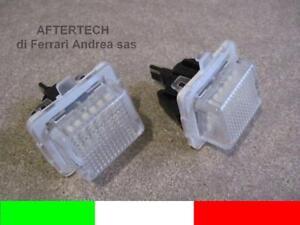 2 LUCI TARGA LED KIT COMPLETO MERCEDES CLASSE C W204 G1E8
