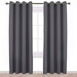 Nicetown Blackout Curtains Panels For Bedroom Three Pass