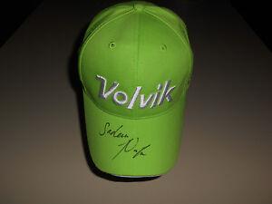 fad5e2d0e76 Sadena Parks Hand Signed New Volvik Hat Signature Autograph LPGA ...