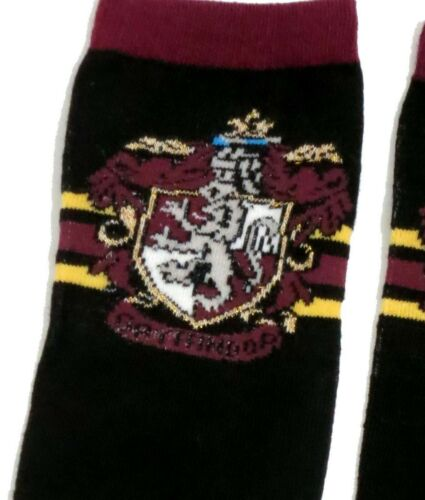 Harry Potter Femmes Gryffindor school House Sparkle chaussettes UK 4-8 EUR 37-42