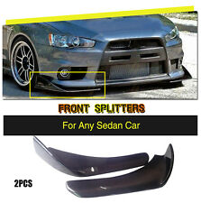 Universal Carbon Fiber Front Bumper Splitter Fit for BMW 1/2/3/4/5/6/7 Series