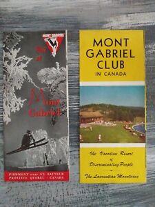 Vintage-Mont-Gabriel-Club-In-Canada-Travel-Brochures