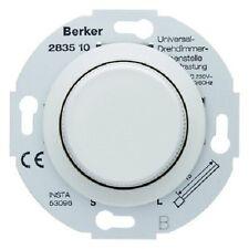 Nebenstellen Einsatz für Drehdimmer BERKER Typ 283510 Zentralstück polarweiß gl.