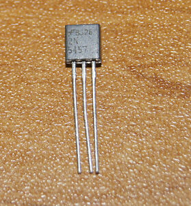 Transistor-FET-2N5457-Fairchild-Canal-N-faible-bruit-TO-92-N-channel-low-noise