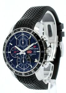 Chopard-Mille-Milgia-GMT-Chronographe-ref-8550-Automatique-Cadran-Noir-42-5-mm-Montre