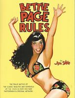 Bettie Page Rules By Jim Silke Dark Horse Books & Unread
