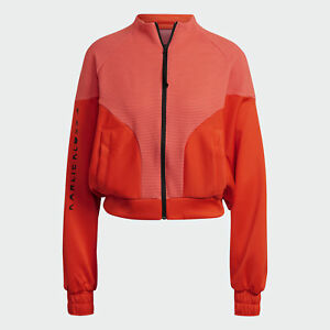 adidas AU Women Active Orange Karlie Kloss Cover-Up Shirt