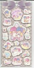 Sanrio Little Twin Stars Thick Foam Puffy Stickers