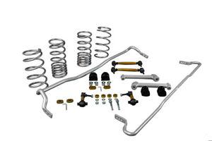 Whiteline Front Rear Grip Series Kit for Subaru BRZ Zc6 4cyl 7/2012-on