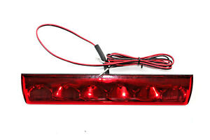Truck Cap Topper Camper Shell Third Brake Light Red Led