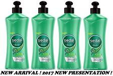 4x SEDAL Rizos Obedientes Crema Para Peinar Hair Comb Cream Obedient Curls NEW !