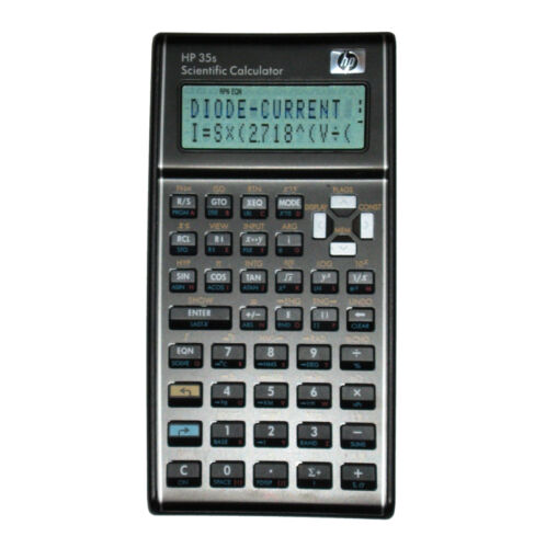 HP 35S PRE-PROGRAMMED for the FE//EIT Other Disciplines Engineering Exam