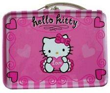 Pink Hello Kitty Mini Size Tin Box  Miniature Tin Box Licensed Sanrio new