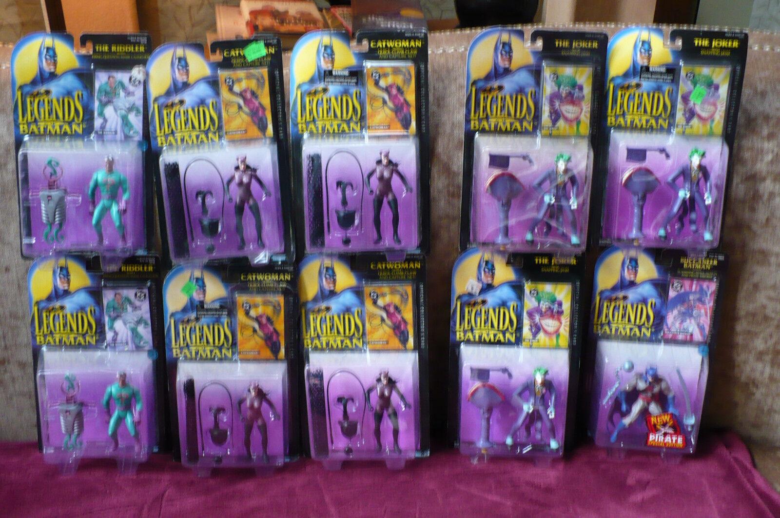 Legenden von batman action - figuren gemischte menge 10 nip w   sammler karten kenner