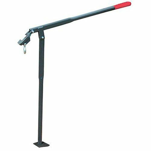 Garden Post Puller Grabber Farm Construction Metal Tool Stake Fence Pole Remover