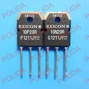 Details about 1pairs EXICON TO-247 ECX10P20R/ECX10N20R ECX10P20/ECX10N20  10P20R/10N20R