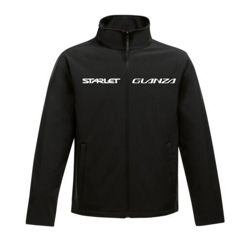 Toyota Starlet Glanza Logo Softshell Thermal Jacket Coat