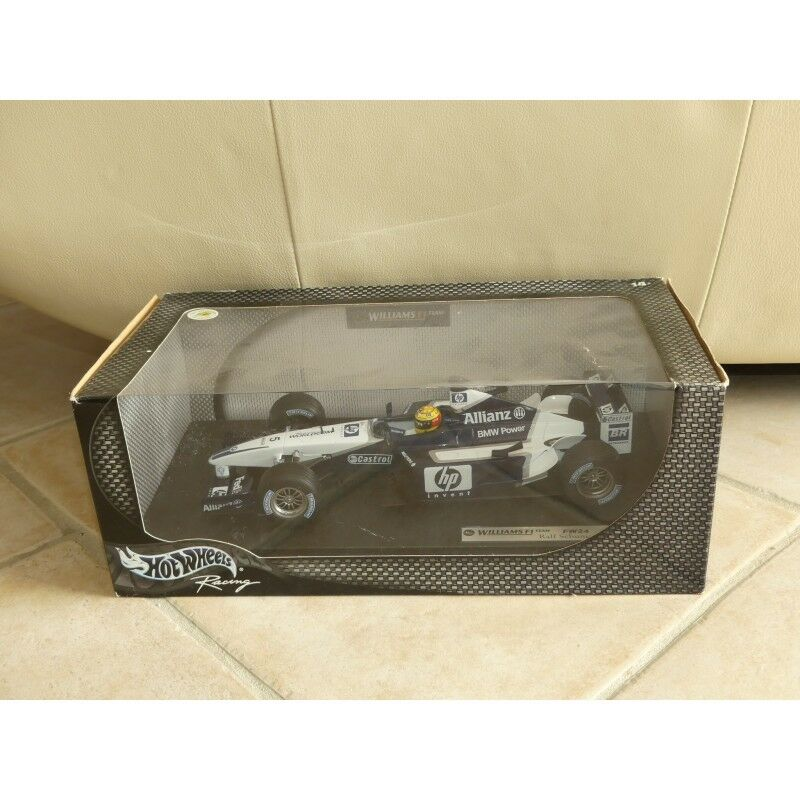 WILLIAMS FW24 2002 R. SCHUMACHER HOTWHEELS 54624 1 18